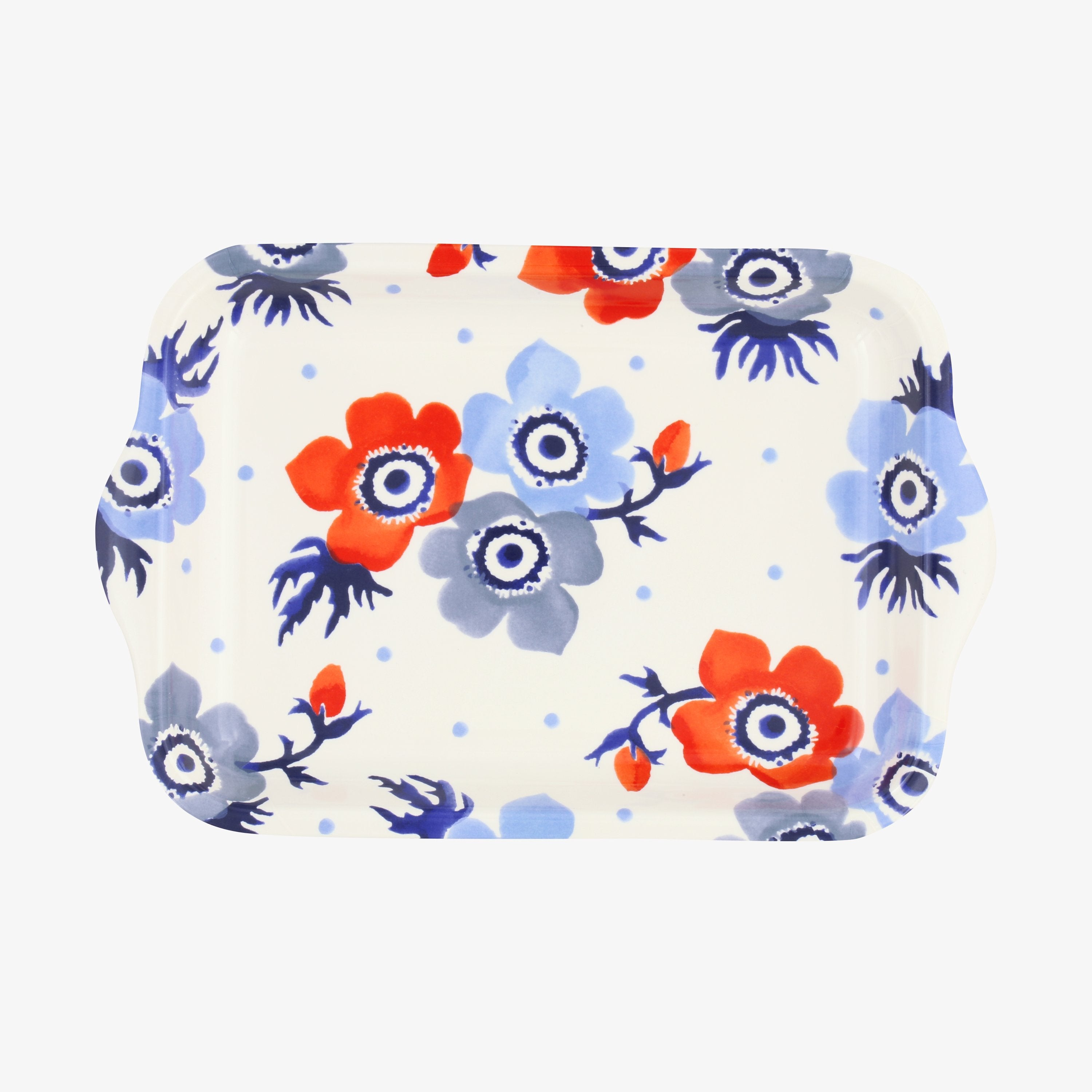 Image of Anemone Small Melamine Tray