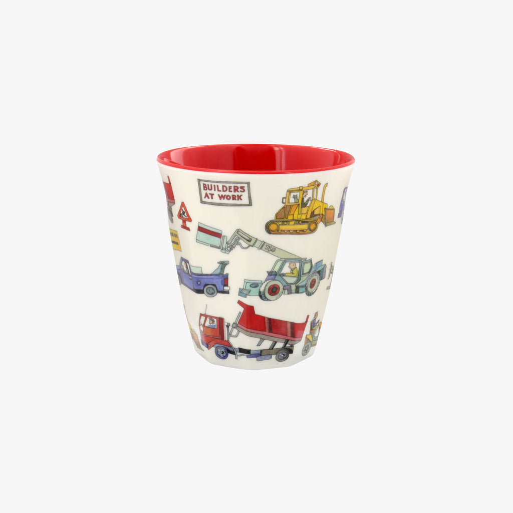 Builders at Work Melamine Beaker