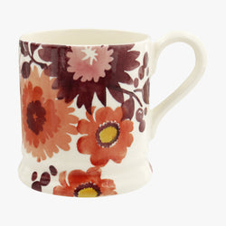 Bright Dahlias 1/2 Pint Mug