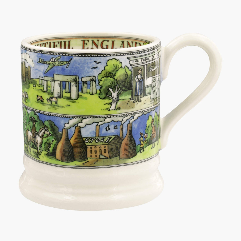 Landscapes Of Dreams Beautiful England 1/2 Pint Mug