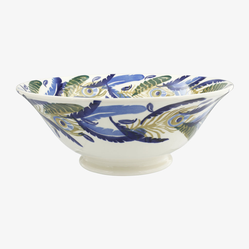 Feather Wreath Large Serving Bowl