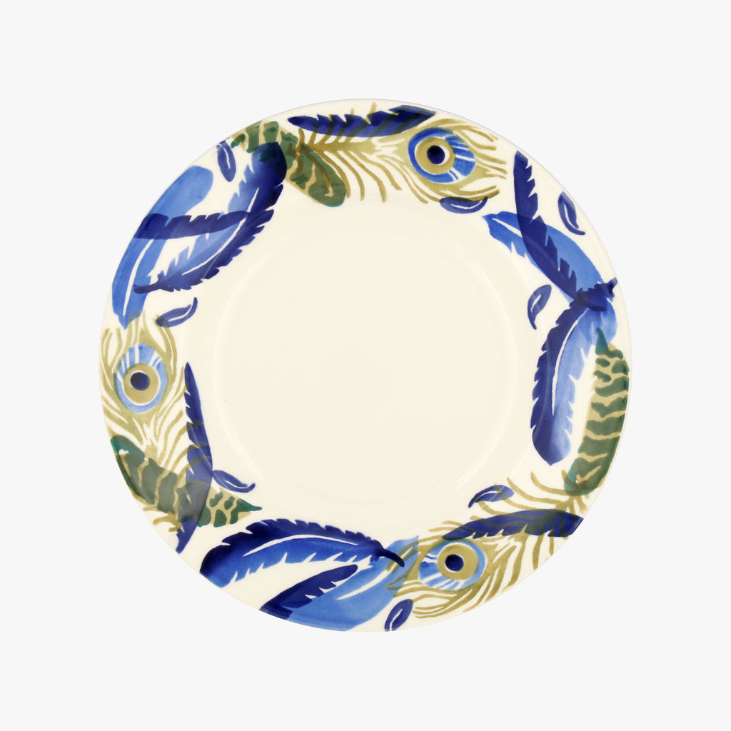 Feather Wreath 8 1/2 plate