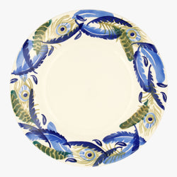Feather Wreath 10 1/2 plate