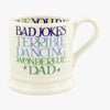 Blue & Green Toast Wonderful Dad 1/2 Pint Mug Boxed