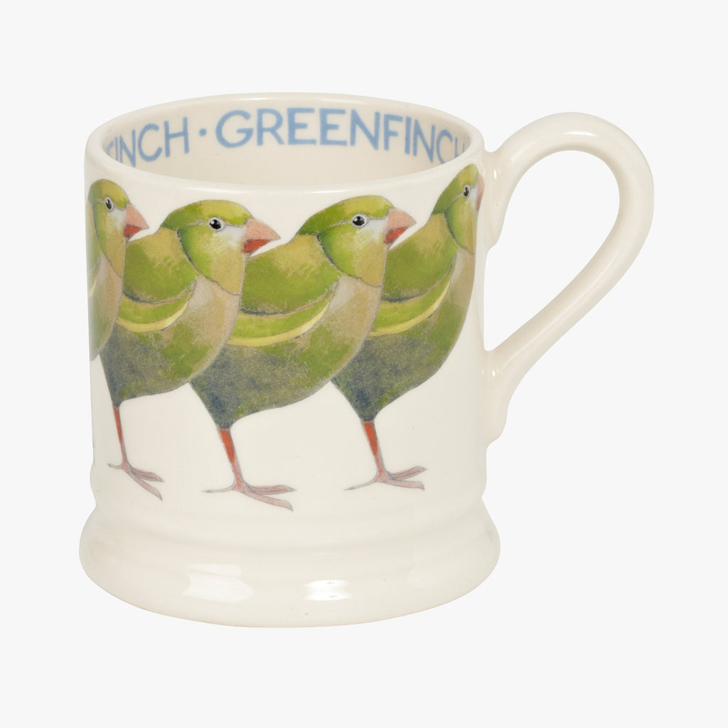 Seconds Greenfinch 1/2 Pint Mug