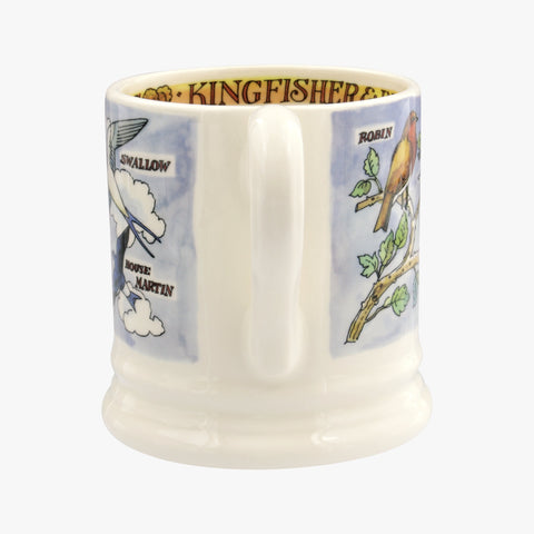 Kingfisher and Insect Eaters 1/2pt Mug