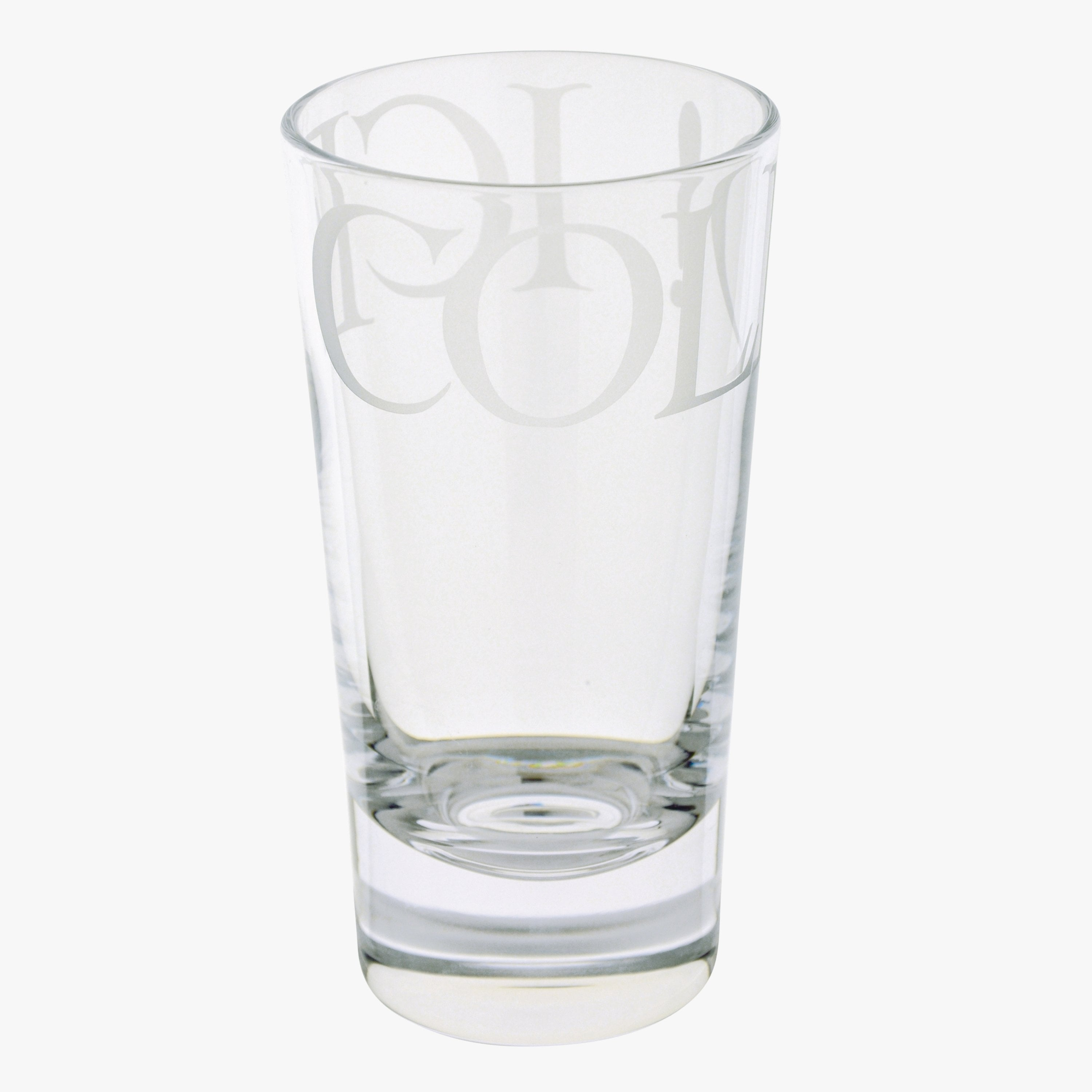 Image of Black Toast Tall Glass Tumbler
