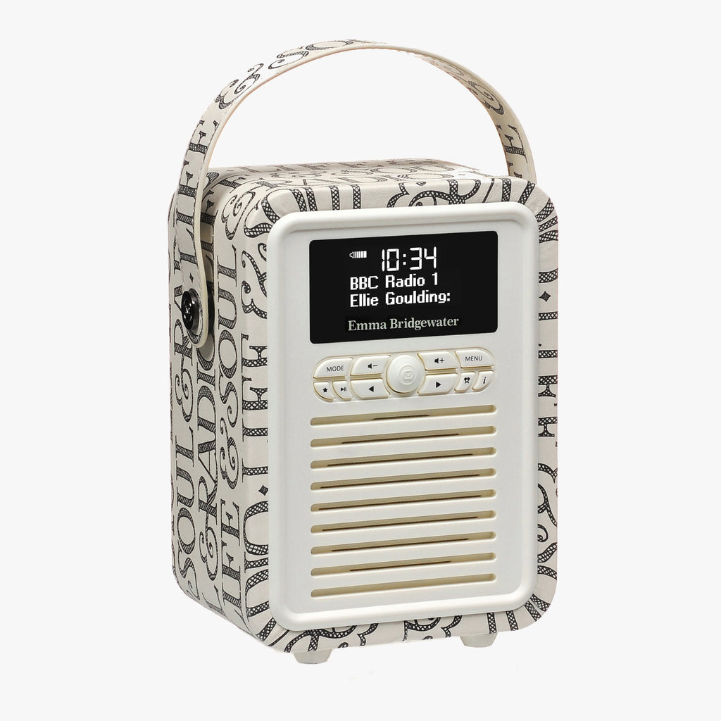 Black Toast Retro Mini Radio