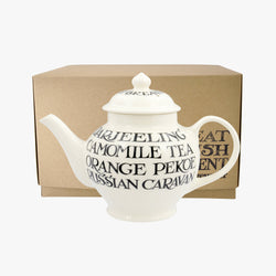 Black Toast 2 Mug Teapot Boxed