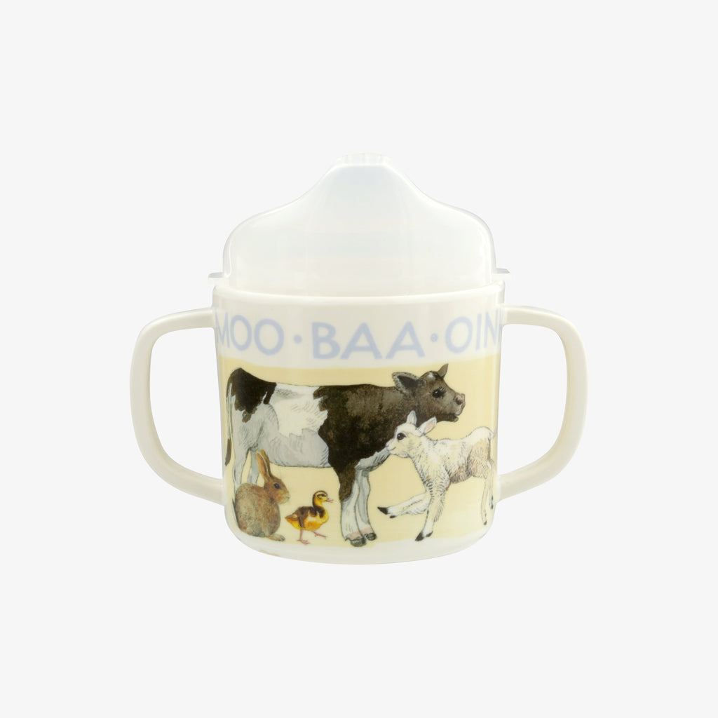 Bright New Morning Melamine Sippy Cup