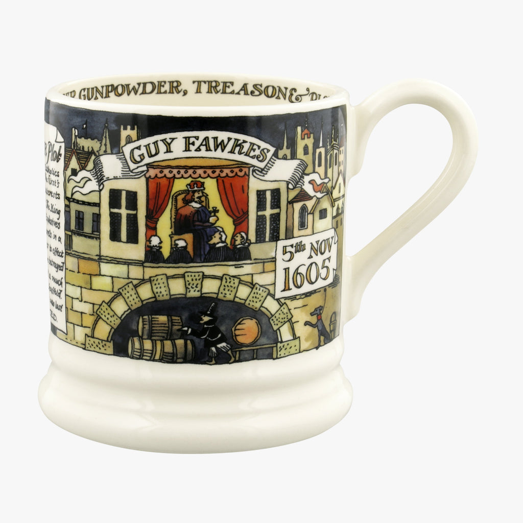 Seconds Year In The Country Bonfire Night 1/2 Pint Mug
