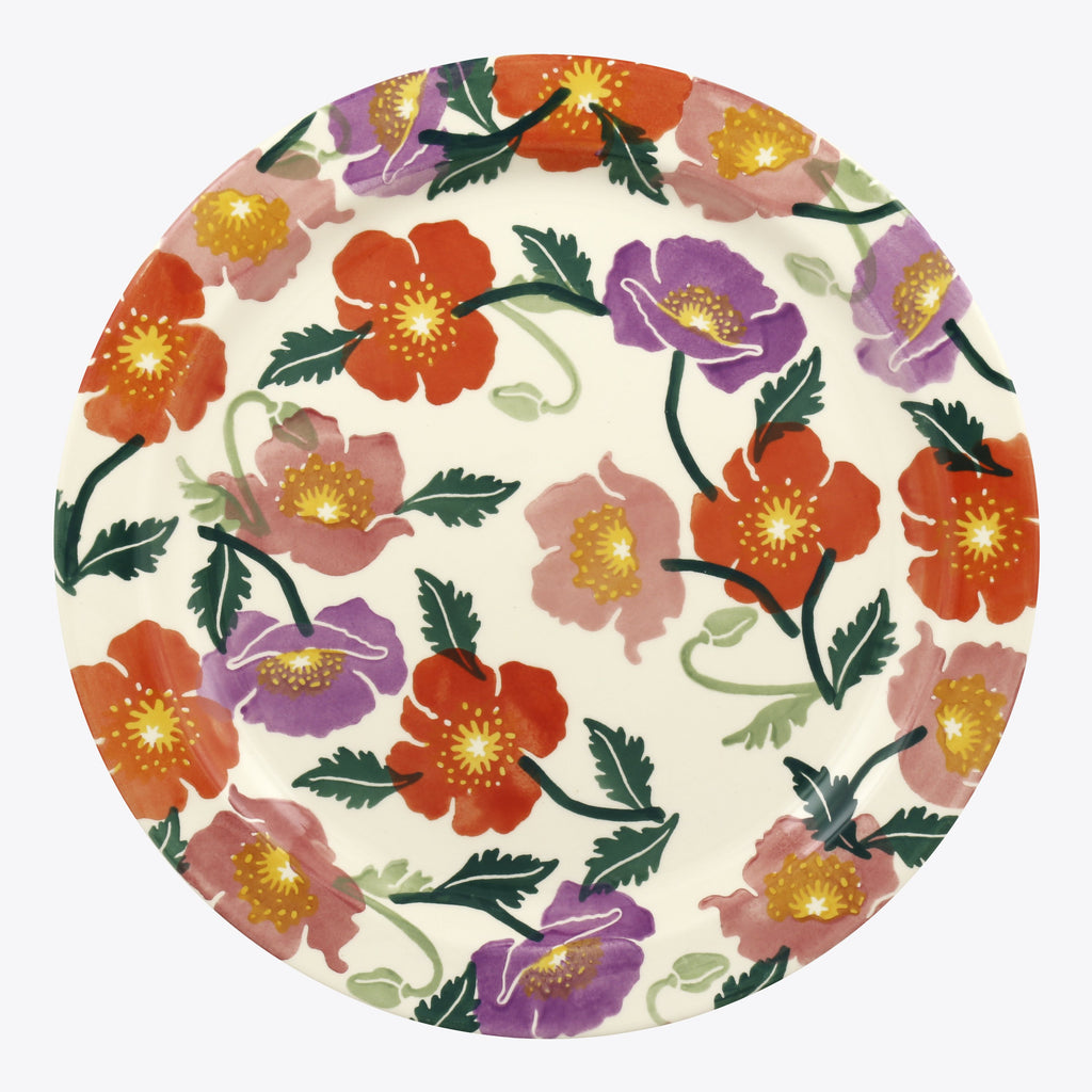 Bright Poppies Serving Plate