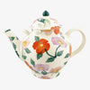 Bright Poppies Gallon Teapot