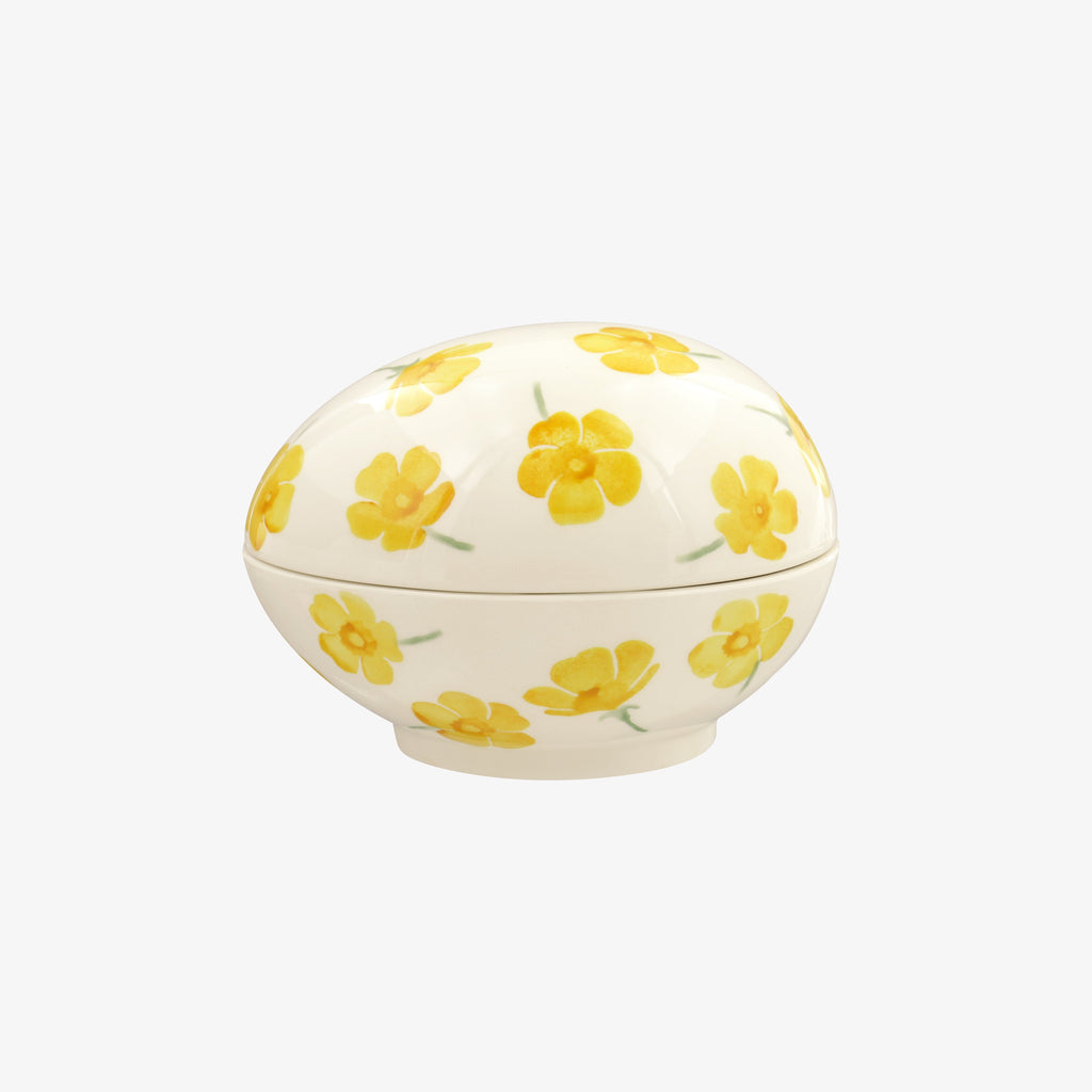 Seconds Buttercup Scattered Ceramic Egg