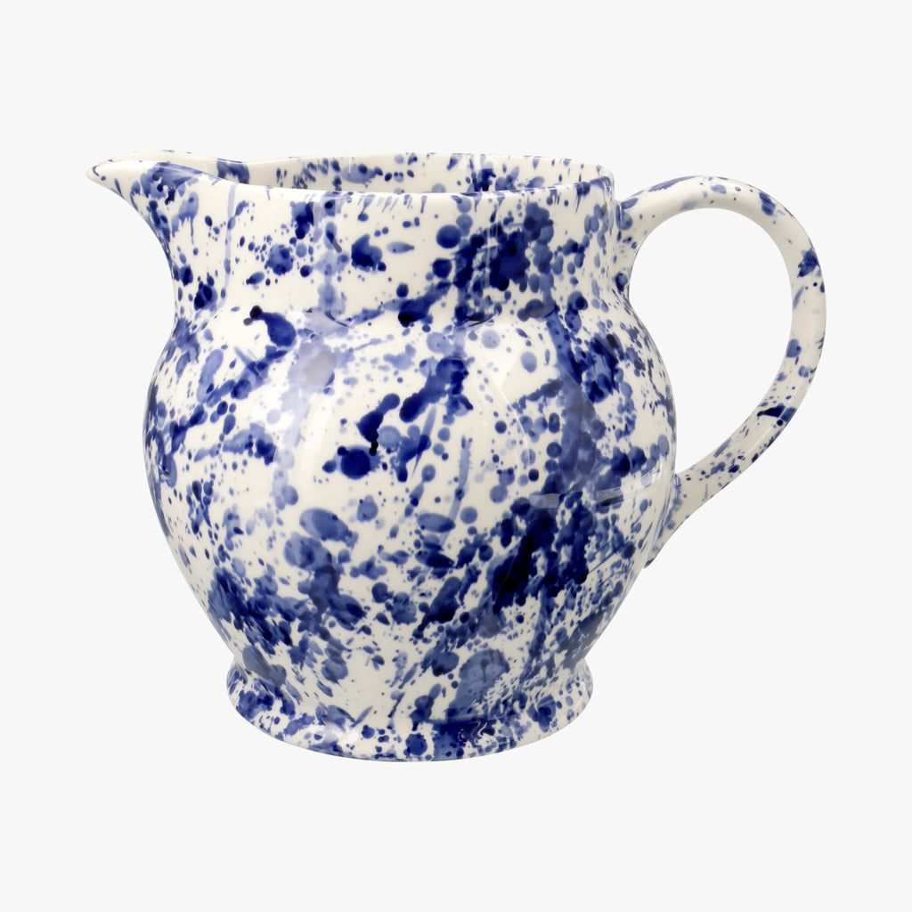 Seconds Blue Splatter 3 Pint Jug