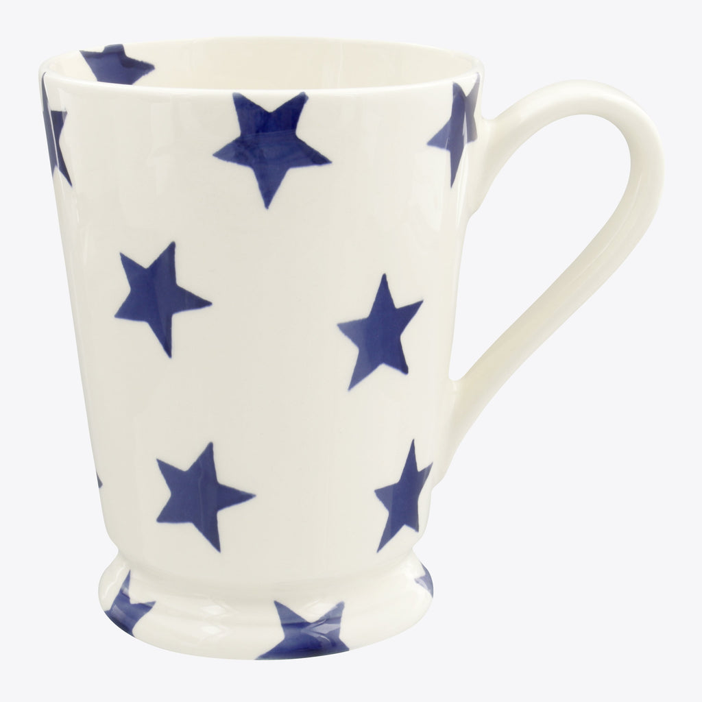 Blue Star Cocoa Mug