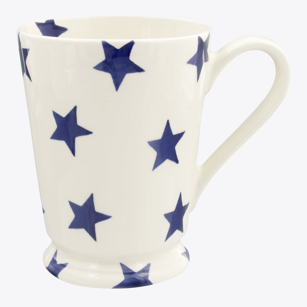 Seconds Blue Star Cocoa Mug