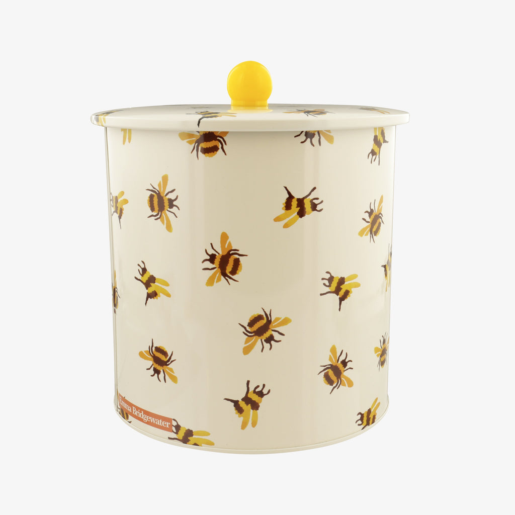 Bumblebee Tin Biscuit Barrel
