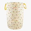 Bumblebee & Small Polka Dot Large Drawstring Laundry Bag