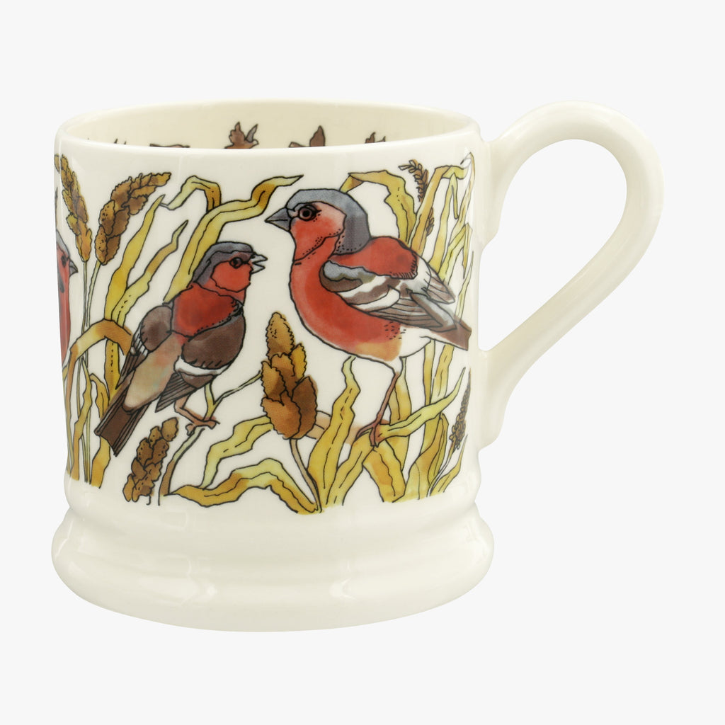 Seconds Good Gardening Chaffinches 1/2 Pint Mug