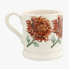 Seconds Flowers Chrysanthemum 1/2 Pint Mug