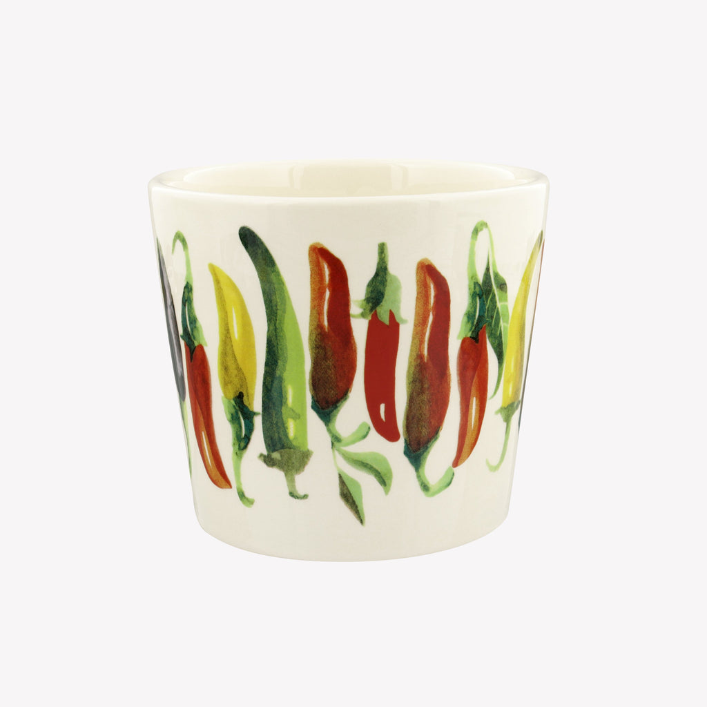 Vegetable Garden Chillies Small Plant Pot