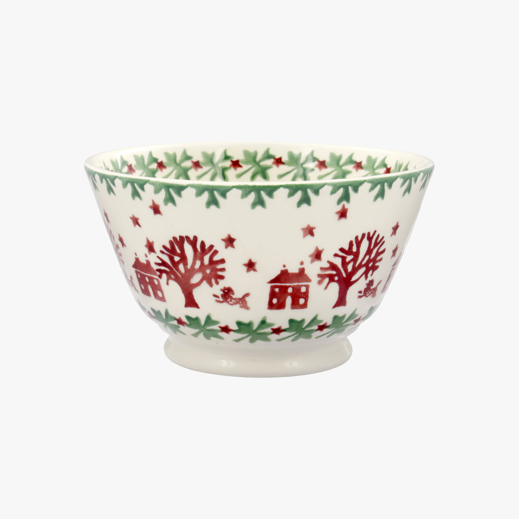 Christmas Joy Small Old Bowl