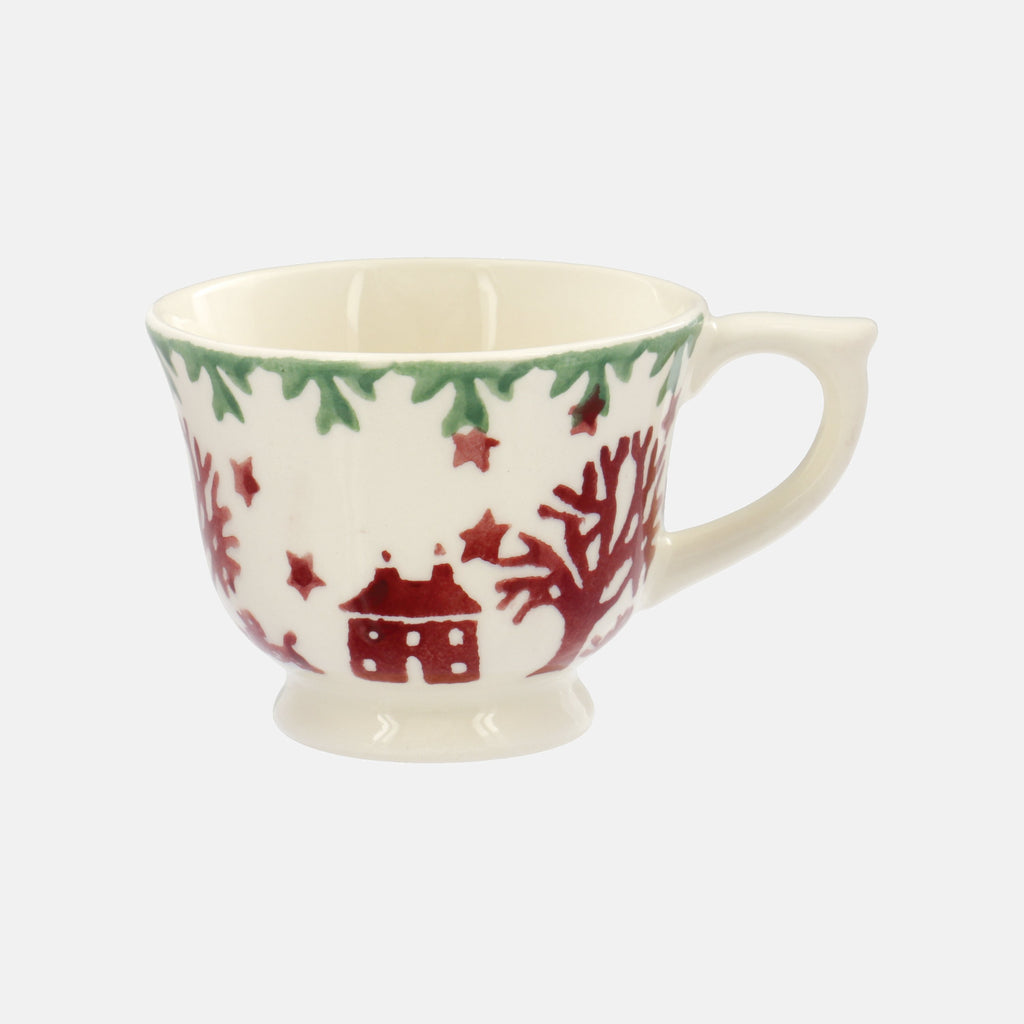 Christmas Joy Tiny Teacup Decoration