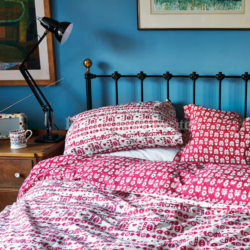 Christmas Joy King Duvet Set