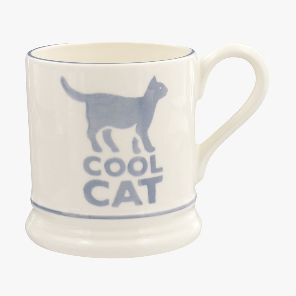Bright Mugs Cool Cat 1/2 Pint Mug