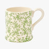 Light Green Coral 1/2 Pint Mug