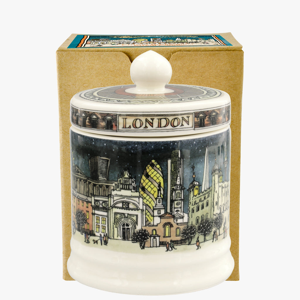 London at Night Small Lidded Candle Boxed