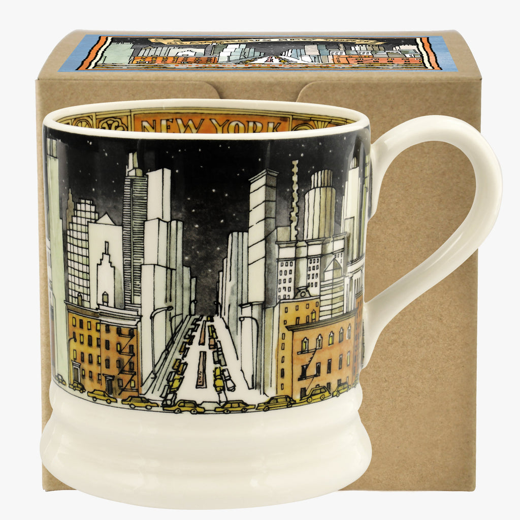 New York 1 Pint Mug Boxed