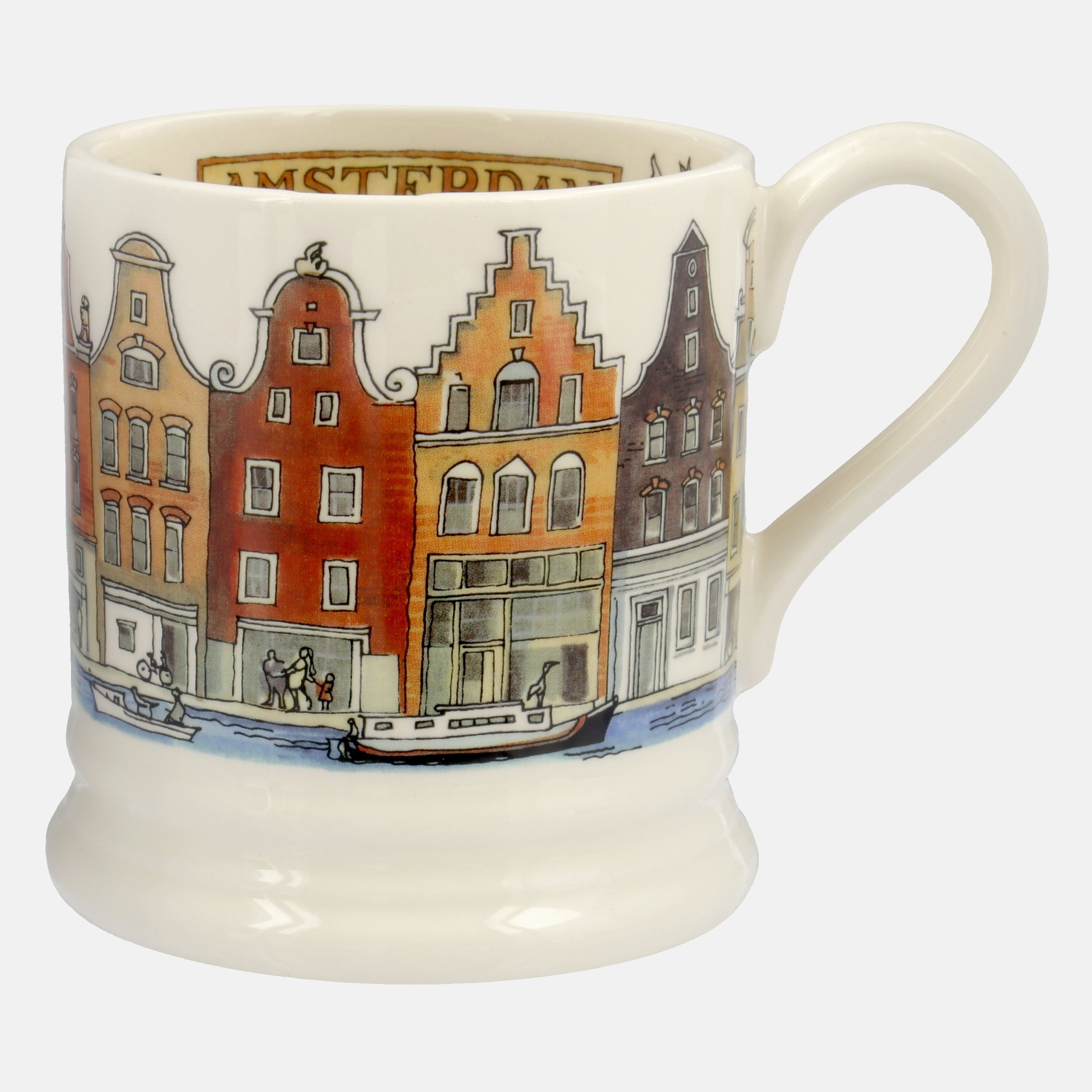 Image of Seconds Amsterdam 1/2 Pint Mug