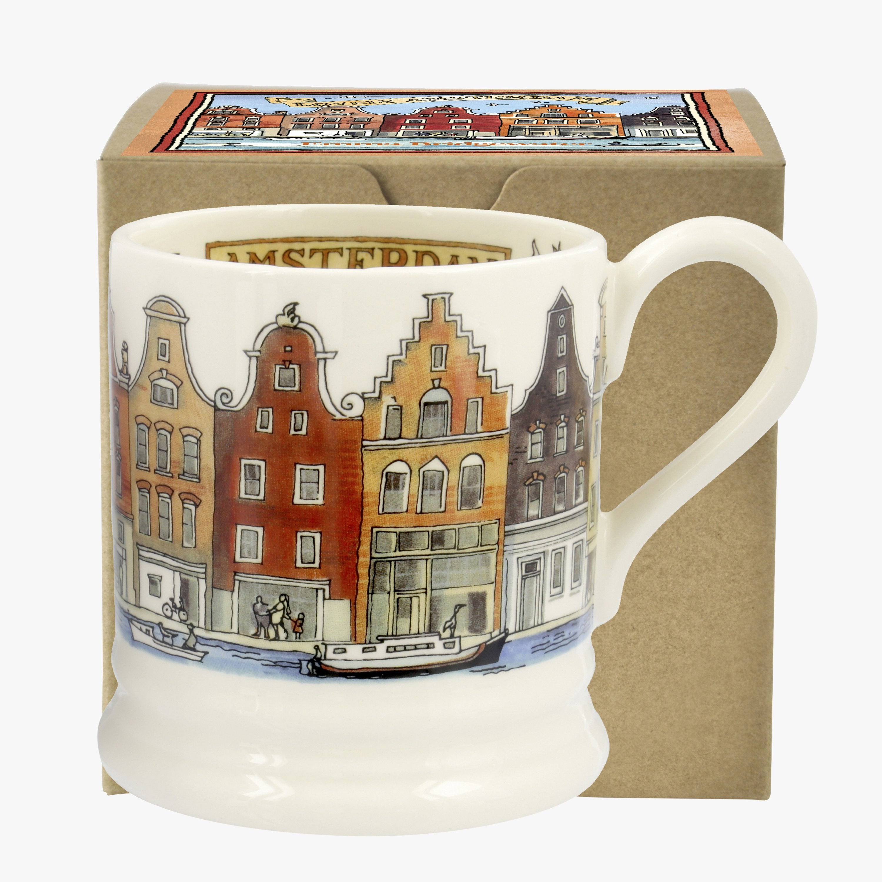 Image of Amsterdam 1/2 Pint Mug Boxed