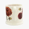 Seconds Flowers Dahlia 1/2 Pint Mug