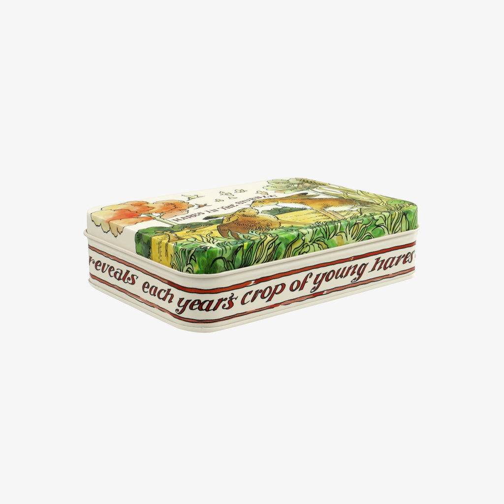 In The Woods Small Rectangular Tin