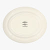 Seconds Dark Dahlia Medium Oval Platter