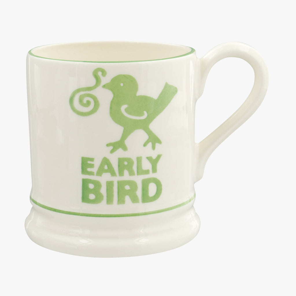 Early Bird 1/2 Pint Mug
