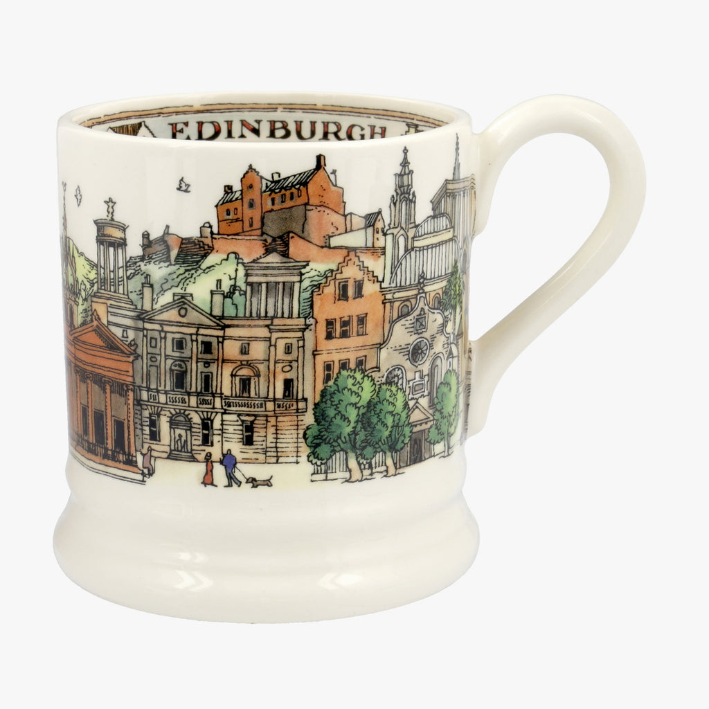 Seconds Cities Of Dreams Edinburgh 1/2 Pint Mug