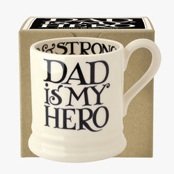 Black Toast Father's Day 1/2 Pint Mug Boxed