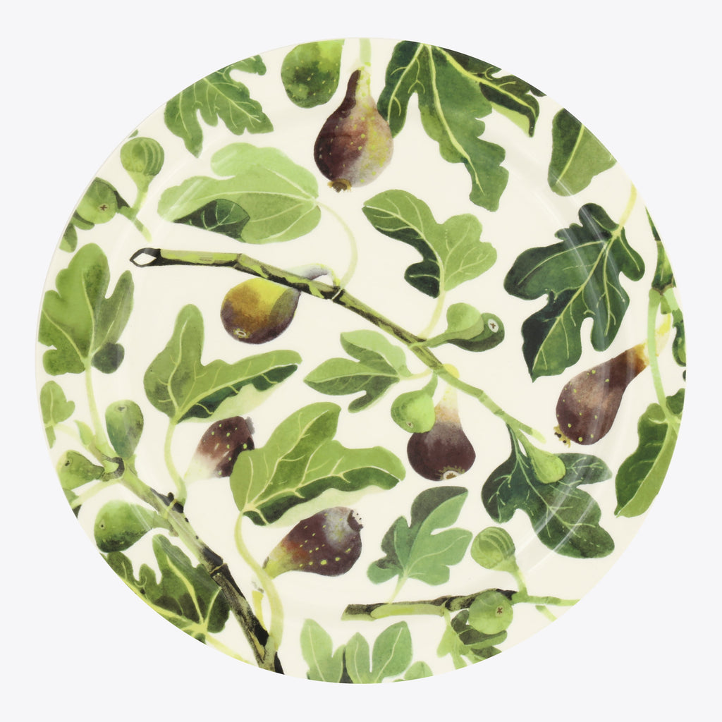 Vegetable Garden Figs Serving Plate