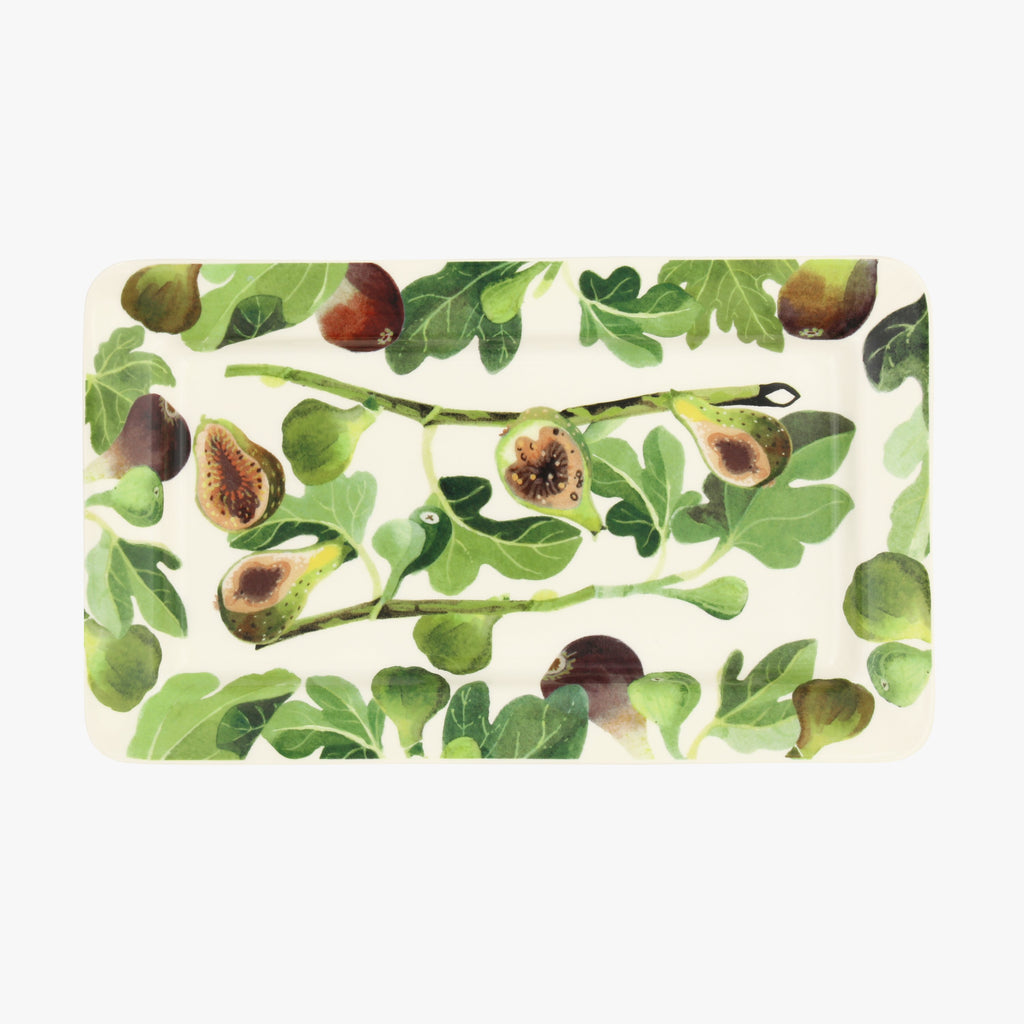 Vegetable Garden Figs Medium Oblong Plate