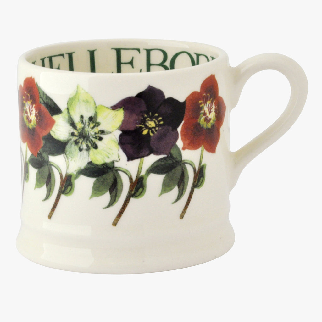 Multi Hellebore Small Mug
