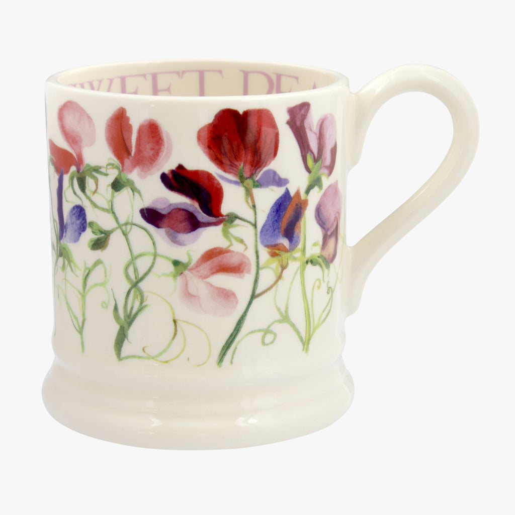 Seconds Sweet Pea Multi 1/2 Pint Mug