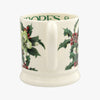 Hellebores & Holly 1/2 Pint Mug
