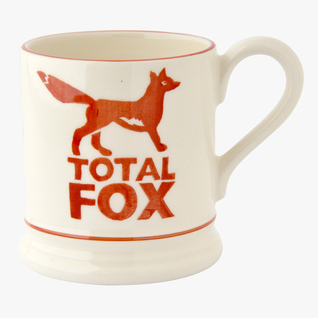 Bright Mugs Total Fox 1/2 Pint Mug