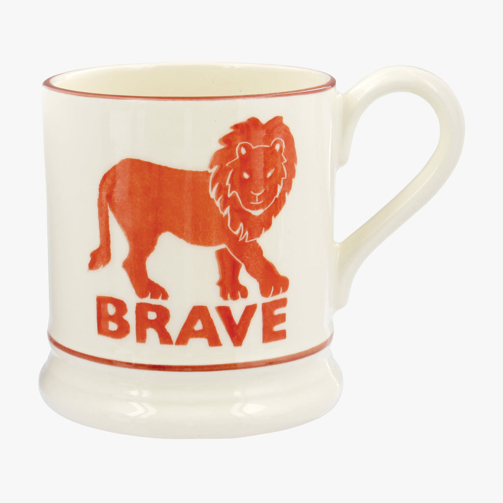 Seconds Brave Lion 1/2 Pint Mug