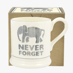 Never Forget 1/2 Pint Mug Boxed