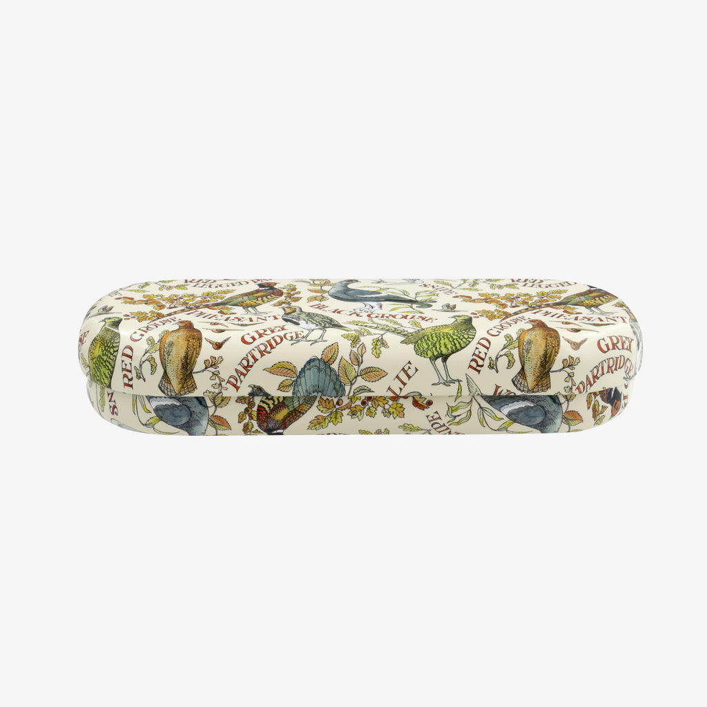 Game Birds Tin Glasses Case